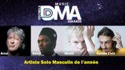 """DMA 2020 : Les nommés dans la catégorie """"artiste solo masculin"""""""