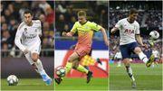 Eden Hazard, De Bruyne et Vertonghen aux côtés des meilleurs en 2019