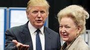 Maryanne Trump Barry en compagnie de son frère, Donald Trump