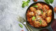 Recette : boulettes de dinde à la tomate, au basilic et au parmesan