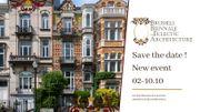 En octobre, Bruxelles accueillera sa première biennale dédiée à l'architecture éclectique