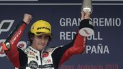 Victoire de l'Italien Niccolo Antonelli en Moto3 à Jerez