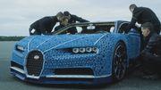 La Bugatti Chiron reproduite à taille réelle en Lego (vidéo)