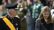 La famille royale belge au Luxembourg pour rendre un dernier hommage au grand-duc Jean
