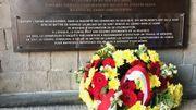La plaque inaugurée ce 20 octobre