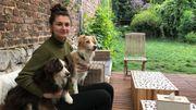 Thalie Martinez, la jeune patronne du Dog Café de Namur.