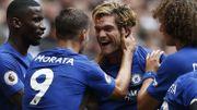 Chelsea écarte Tottenham, le doublé d'Alonso efface l'auto-but de Batshuayi