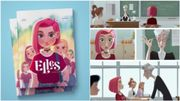 """""""Elles"""": plongée en adolescence dans cette BD au style graphique des plus efficaces"""