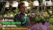 Star montante des fleuristes, Audric Ronfort raconte son métier avec passion