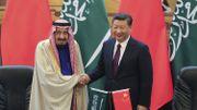Le Roi Salman et Xi Jinping