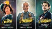 Un cinéma remplace ses affiches de films par des publicités pour les commerçants du quartier