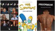 Friends, Simpsons, Prison Break... les affiches de séries célèbres retouchées en mode confinement