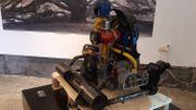 Un moteur de Coccinelle, à la conception très célèbre, est également exposé