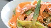Recette : Wok de légumes d'hiver, poulet grillé et noix de cajou