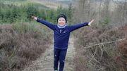 Siméon, 5 ans, a commencé à grimper l'équivalent du Mont-Blanc au profit de Viva for life