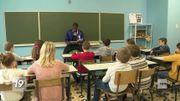 Quand Clinton Mata part à la rencontre d'une classe de primaire pour lutter contre le racisme