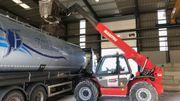 30.000 tonnes de sel constituent à Amay le stock commun de 81 communes