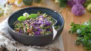 Recette : taboulé de brocolis