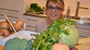 Couscous végétarien des beaux jours aux fèves, petits pois, épinards et oignons nouveaux
