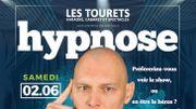 Spectacle d'hypnose avec Sandman  à Sainte-Cécile ce 2 juin !