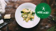 Recette : les raviolis sauce ricotta