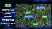 L'E19 Mons-Bruxelles à nouveau fermée ce jeudi soir