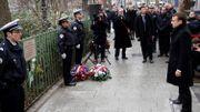 Emmanuel Macron rend hommage aux victimes du 7 janvier 2015