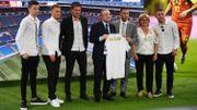 """Eden Hazard: """"Merci aussi à ma famille restée à Londres… car il y a école"""""""