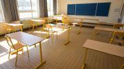 Près de 80% des élèves de secondaire n'ont pas fréquenté l'école depuis le confinement.