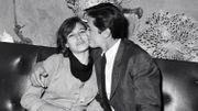 Nathalie et Alain Delon, en 1967