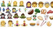 Sirène, elfe et brocoli : bientôt de nouveaux emojis sur nos smartphones