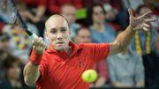 Steve Darcis, 43ème à l'ATP, obtient le meilleur classement de sa carrière à 33 ans