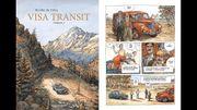 Comics Street: Visa Transit