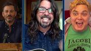 """[Zapping 21] Dave Grohl joue """"Everlong"""" des Foo Fighters pour uninfirmier du service des urgences"""