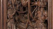 scène de la roue, saint Georges torturé