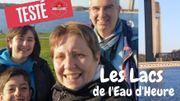 """Les Lacs de l'Eau d'Heure en """"hors saison"""" avec la Famille Bonvoyage"""