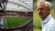 Le stade d'Amsterdam rebaptisé Johan Cruyff Arena
