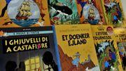Un album unique de Tintin mis aux enchères dimanche à Liège