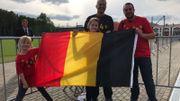 Les fans Belges présents à Dedovsk