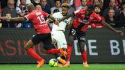 Monaco et Tielemans chutent à Guingamp et sentent le souffle des Olympiques dans son dos