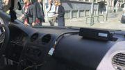 Le boitier qui doit se trouver dans la cabine du camion ou de la camionnette