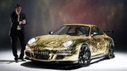 C'est ce qui s'appelle crasher sa Porsche… Bêtement!