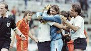 La joie des Belges après le match contre l'URSS