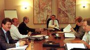 Didier Gosuin, dans le gouvernement Simonet, en 1999.