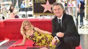 Goldie Hawn et Kurt Russell reçoivent leur étoile à Hollywood