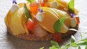 Recette : Croustillant spéculoos aux poires, crème vanillée