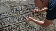 """Une mosaïque byzantine """"unique"""" découverte à Jérusalem"""