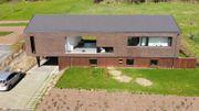 Découverte d'une maison moderne et chaleureuse dans la campagne liégeoise
