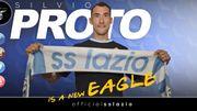 Silvio Proto se lie à la Lazio de Rome