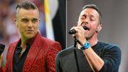 """Coldplay """"vole"""" à Robbie Williams la première place des charts"""